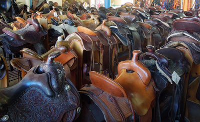 Portland Outdoor Store consignment saddles